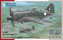 Special Hobby 1/72 Model Kit 72128 Brewster Buffalo model 339-23 RAAF and USAAF